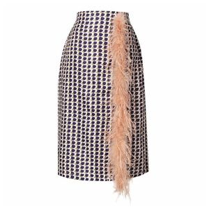 Dresses & Skirts - ❤️ Feather Wrap Geometric Print Skirt